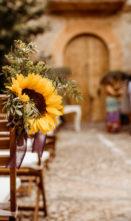 A vibrant finca wedding